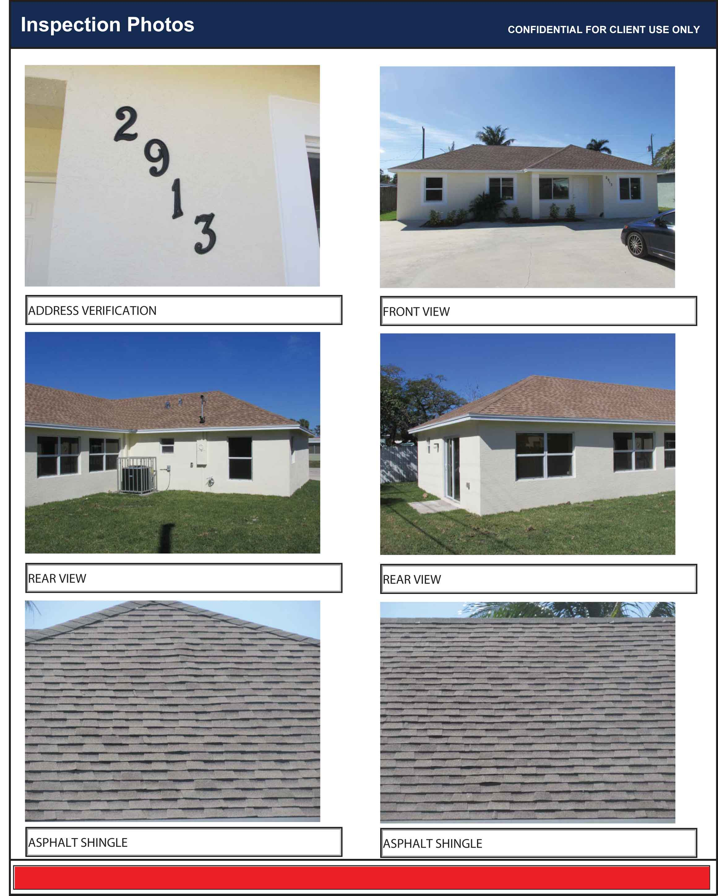 Wind Mitigation Four Point Inspection Roof Certification